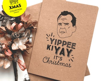 Die Hard – Yippee Ki Yay it's Christmas Card