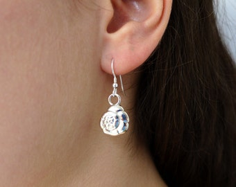 Foraminiferan Earrings 'Ammonia tepida'-Marine Biology-Science Jewelry