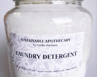 Homemade Eco-friendly Sustainable Non-toxic Laundry Detergent- PICK YOUR SCENT
