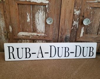 Rub A Dub Dub Etsy