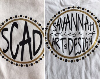 Savannah College if Art and Design T-Shirt