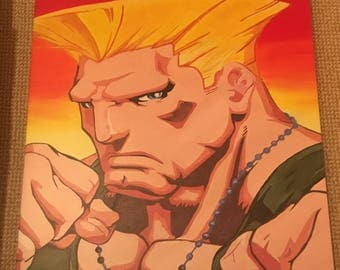 PRINT of Guile from Street Fighter