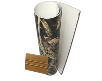 Camo Tallgrass 3m Cast Wrap Decal Laminated Highly Conformable 50 x 12 Inches Matte