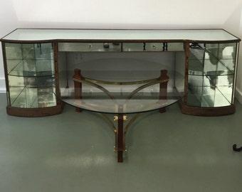Rare 1930's Mirrored Vanity