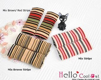 Blythe Pullip Doll Leg Warmers (Mix Stripe)