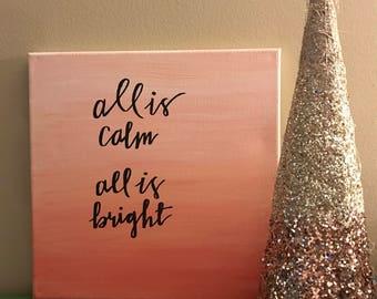 12x12 Calm & Bright