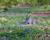 Bluebell Cottage~ A fairy house for the garden