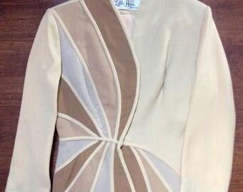 Stunning 1940s Lilli Ann skirt suit XXS