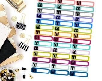 Scale Mini Label Stickers! Perfect for your Erin Condren Life Planner, calendar, Paper Plum, Filofax!