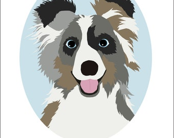 Dog Portrait Series | Australian Shepherd