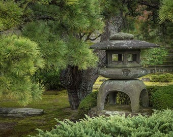 Japan Photography, Stone Lantern, Landscape Photograph, Gallery Wall Art, Michael Evans, Japanese Style, Travel Photography, Beautiful Japan