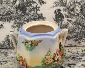 REDUCED  Cottage Range Sugar Bowl Made in England