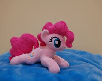 Pinkie Pie [kitten-sized handmade minky mlp plush toy]