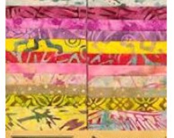 Tonga Treat Strips by Timeless Treasures - Gelato