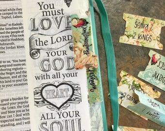 Valerie Wieners Bible Tabs - Machine Cut Tabs - 64 Tabs for Your Journaling Bible