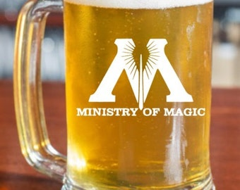 Ministry of Magic Harry Potter Beer Mug