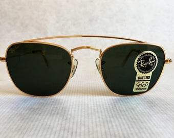 Ray-Ban by Bausch & Lomb Classic Metals W1344 Sunglasses Made in the U.S.A.