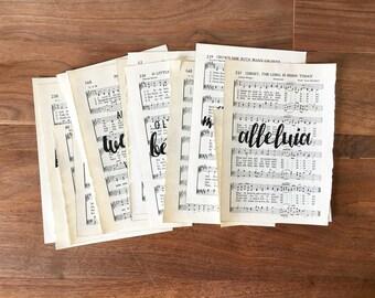 Hymnal Print