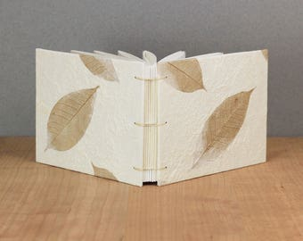 Landscape Sketchbook, Wide Notebook, Art Journal, Handmade Book, Watercolor Sketchbook, Wedding Guestbook, Lined Journal, Dot Grid, Graph,