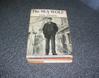 The Sea Wolf by Jack London Movie Edition 1944 HC/DJ Vintage