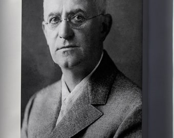 Canvas 24x36; George Eastman