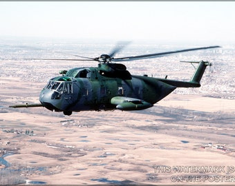 16x24 Poster; Usaf Hh-3E Jolly Green Giant