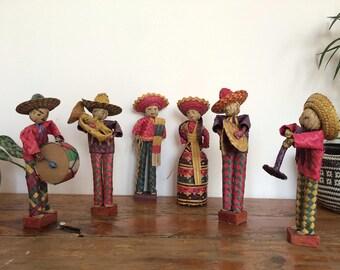 Mexican art folk band of musicians.
