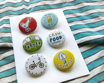 Permaculture Badge Pack