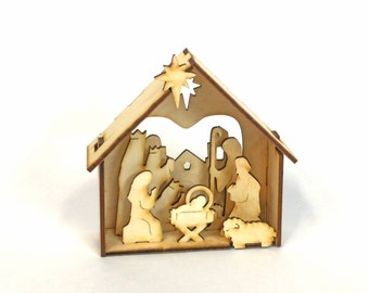 DIY Nativity- Christmas Nativity Set