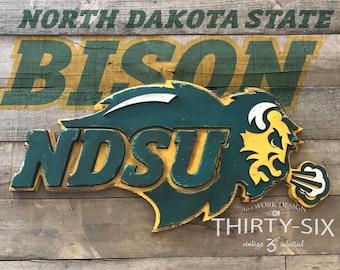 North Dakota State Bison Officially licensed Wall Art
