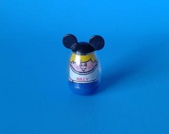 "Vintage Hasbro Toy "" Mickeys Clubhouse Billy Weebles "" 1970's"