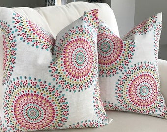 Pretty in Pink 20x20 Pillow Cover Pairs