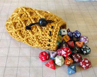 Dragon scale, drawstring bag, RPG dice bag, LARP Gamer bag, tabletop gaming, roleplaying bag, dungeons and dragons, dungeon master gift, D&D