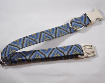 Blue and Gold Collar