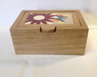 Marquetry Keepsake/Jewelry Box