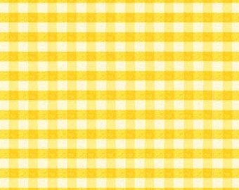 Red Rooster - Puddle Jumpers - 26279Yel1 - Kathy Brown - Plaid - Gingham - Yellow - One More Yard
