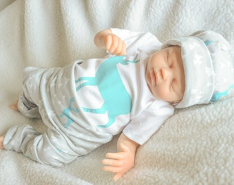 Preemie-18month newborn deer outfit, newborn boy outfit, newborn set, baby boys, buck outfit, baby bou outfit, woodland outfit,