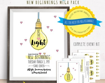 Be the Light New Beginnings Mega Pack [NON-CUSTOMIZED]