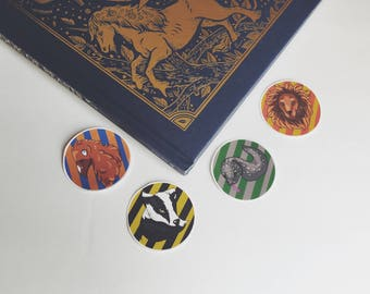 Hogwart House Stickers