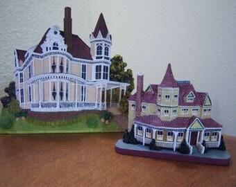 ledge sitter,resin houses,victorian houses,ornate,architecture,wrap around porch,cottage decor,shabby chic decor,home decor