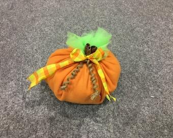 Large Fabric Pumpkin