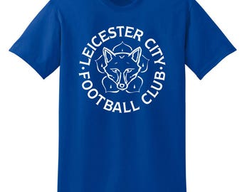 Leicester City T Shirt Camiseta Fans The Foxes Claudio Ranieri, Jamie Vardy, Ahmed Musa