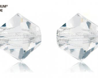 Preciosa 451 69 302 - MC Bead Rondell Crystal Bead (With Crystal Effects)