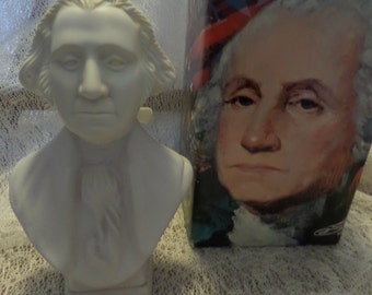Avon George Washington Bust Tai Winds After Shave
