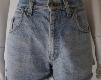 Lee Union Made high waisted denim shorts