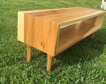 Mid Century Modern Coffee Table  - Hand Made, Coffee Table, Media Center, Living room, Entertainment Center, Solid Wood