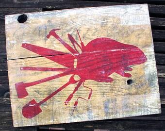 Western Utility Beaver Art Board