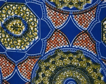 African cotton Anaglypta decorative fabric