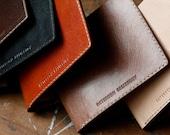 Slim Wallet with custom engraving, etc.