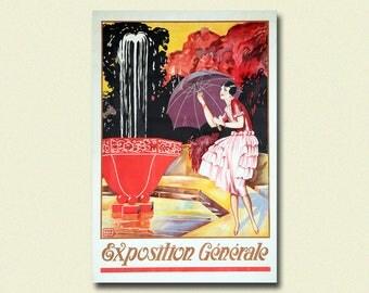 Vintage Department Store Advertising - L'Innovation Poster Belgium Poster Fashion Poster Fashion Wall Art
